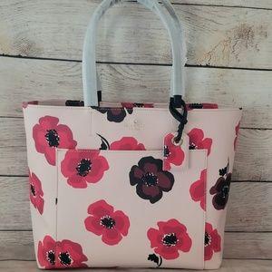 🆕️NWT Kate Spade Hyde Lane Poppies Riley Rose Dew